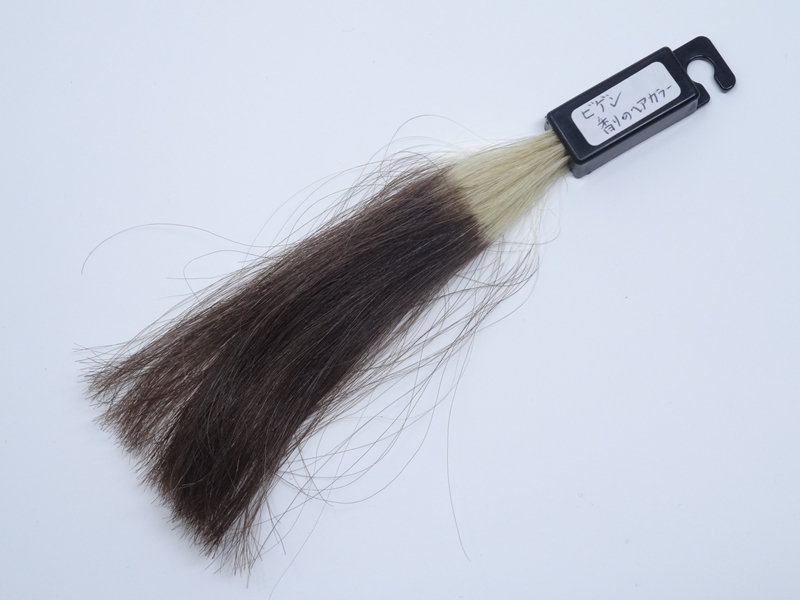 ビゲン 香りのヘアカラー白髪100染め後