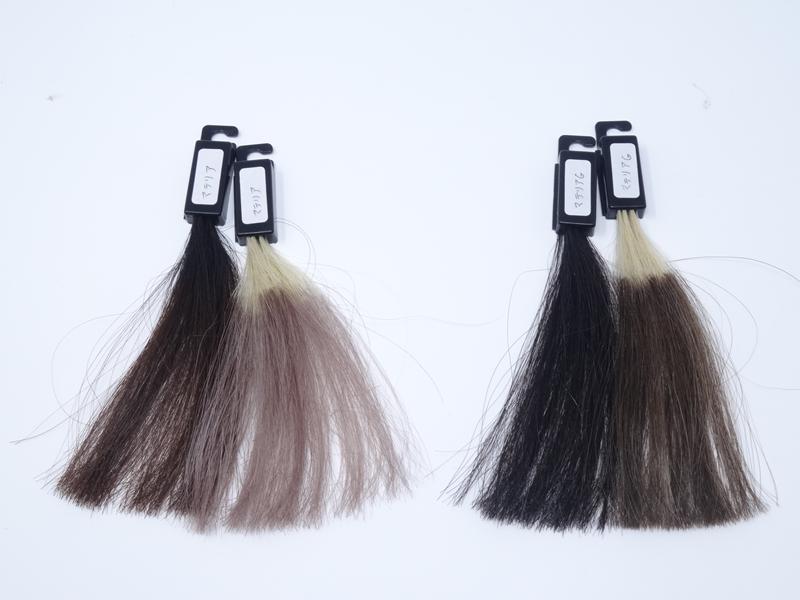 白髪染めとヘアカラーの染まりの差