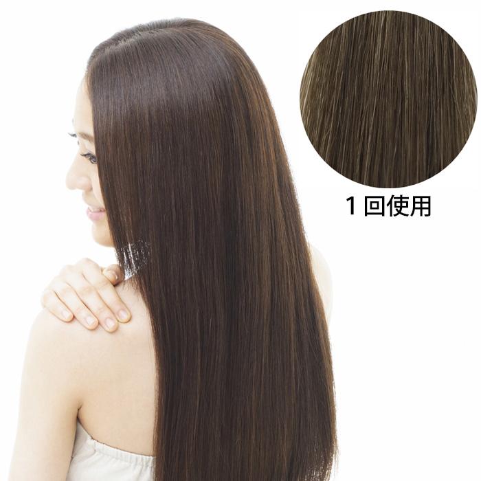 髪萌カラーアップ 染まりイメージ
