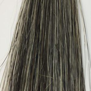 イオンカラーヘナーズ 白髪50% 15回使用後の染まり