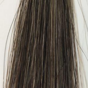昆布の白髪用シャンプー 白髪50% 15回使用後の染まり