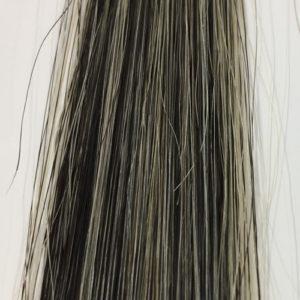 黒耀シャンプー 白髪50%の染まり