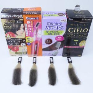 【検証】市販の白髪染めヘアマニキュアおすすめランキング