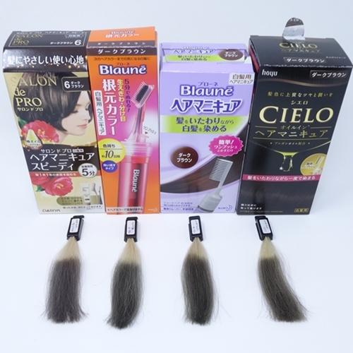 白髪染めヘアマニキュアおすすめ4商品比較
