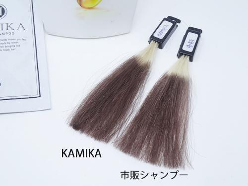 KAMIKA 色持ち実験2