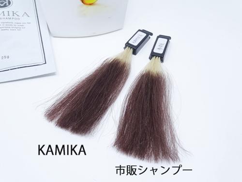 KAMIKA 色持ち実験